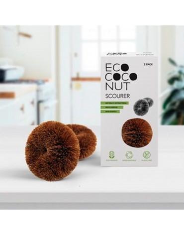 Burete de vase din fibre naturale de cocos