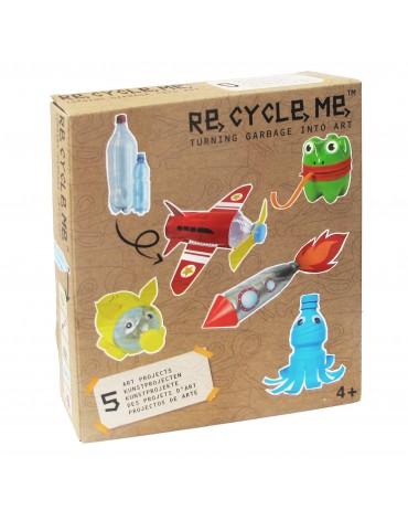 Transformă deșeurile în jucării - sticlă PET- Re-cycle-me