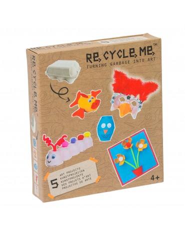 Transformă deșeurile în jucării - cofrag de ouă - Re-cylce-me