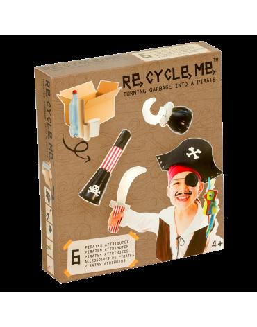 Transformă deșeurile în jucării - costum de pirat - Re-cycle-me