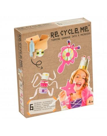 Transformă deșeurile în jucării - costum de prințesă - Re-cycle-me