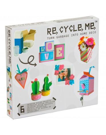 Transformă deșeurile în decorațiuni - Re-cycle-me