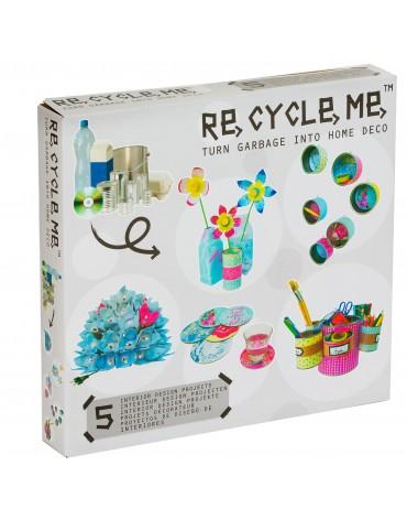 Transformă deșeurile în accesorii de birou - Re-cycle-me