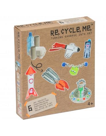 Transformă deșeurile în jucării - în spațiu - Re-cycle-me