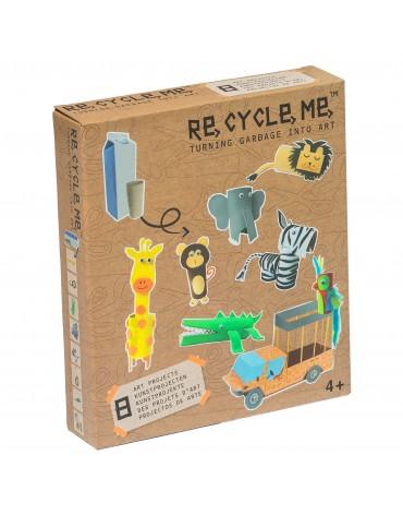 Transformă deșeurile în jucării - junglă - Re-cycle-me